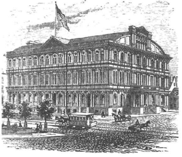 Tompkins Market, 1860